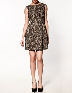 Lace Tulip Dress from Zara. Kate wore this to the Gary Barlow concert in London on 12/6.