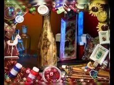 Декупаж. Создаем объёмный декор на стекле, имитирующий драпировку. Мастер класс. Наташа Фохтина - YouTube