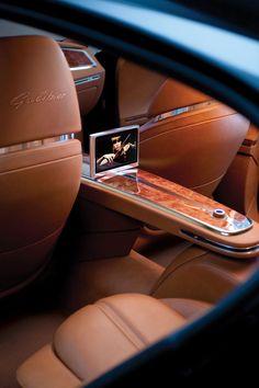 Luxury car, Bugatti interior