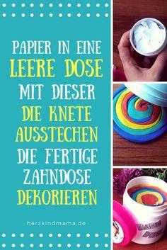 MilchZahndose selber machen #milchzahn #milchzähne #dose #aufbewahrung #milchzahndose #knete #basteln #geschenk #idee #vorschulkind #wackelzahn #wackelzähne