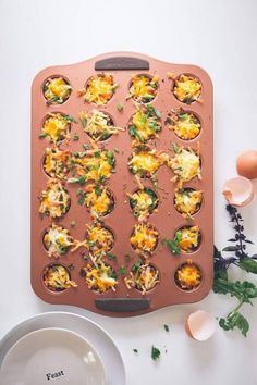 Host the ultimate brunch with minimal cleanup with these three one pan breakfast & brunch recipes! Bacon Breakfast, Breakfast Cookies, Breakfast In Bed, Sunday Recipes, Brunch Recipes, Breakfast Recipes, Brunch Ideas, How To Make Waffles, Brunch Casserole