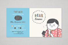 Holmesglen Tafe Folio Night Invitation | design + illustration by San Wanshan Huang. hellosansan.com