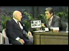 Jay Leno chats to 100 year old Laurel & Hardy Producer Hal Roach - Jan 21st 1992 - YouTube