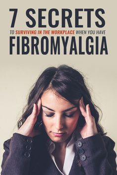 For millions of people suffering from #fibromyalgia, work is an on-going struggle. Try these 7 strategies to prevent fibromyalgia from derailing your career.