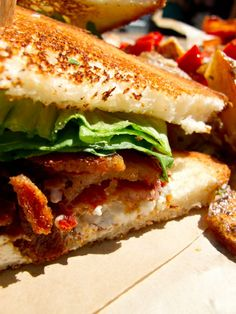 BLT from Bacon Bacon food truck in San Francisco