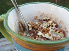 Carrot and zucchini oatmeal