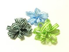 Dog Bow Tutorial: How to Make Loopy Gingham Dog Bows