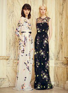 Flowers & Lace by Erdem Pre-Spring 2014