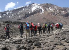 Kilimanjaro Climbing RONGAI ROUTE Africa safari
