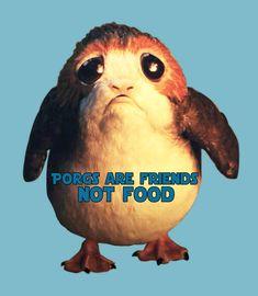 Porgs are Friends, Not Food.  Star Wars Last Jedi Episode 8