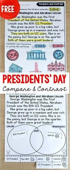 Presidents Day Worksheet George Washington George Washington Day