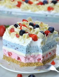 Very Berry Dessert Lasagna Very Berry Dessert Lasagna,You can find Lasagna and more on our website.Very Berry Dessert Lasagna Very Berry Dessert Lasagna, No Bake Summer Desserts, Blue Desserts, 4th Of July Desserts, Blueberry Desserts, Chocolate Desserts, Easy Desserts, Delicious Desserts, Health Desserts, Summer Cakes