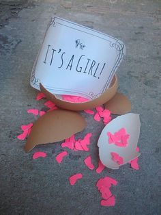Top 5 Gender Reveal Ideas... I'm not having any more kids but the day my sis decides to have babies I wanna throw her reveal party!!!