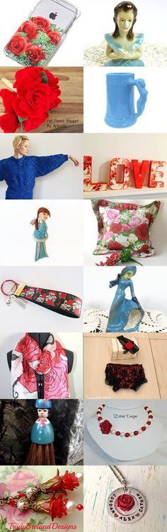 Red Roses for a Blue Lady by Victoria on Etsy--Pinned+with+TreasuryPin.com