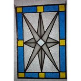 Found it at Wayfair - East Avenue Westminster Star Stained Glass