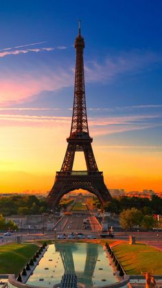 Beautiful Paris, France - Eiffel Tower