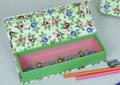 Rex - Cardboard pencil case Rambling rose - 6.00�