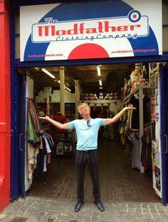 Paul Weller at Modfather
