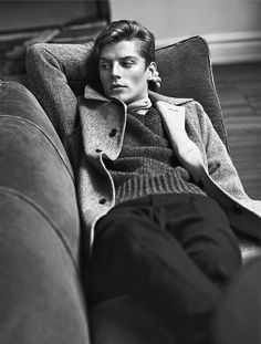 Janis Ancens for Club Monaco's Fall 2015 Campaign, shot by Lachlan Bailey in Tribeca.