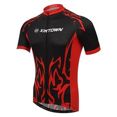 76b186c67 Amazon.com   BESYL Unisex Printed High-Performance Mesh Cycling Clothing  Suit