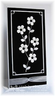 Mainly Flowers, Joanne Gelnar:  I have lots of white flowers! Classy and quick!