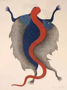Gond Art from Madhya Pradesh (India) Tribal Art, Worli Painting, Indian Folk Art, Madhubani Painting, Indigenous Art, Aboriginal Art, Pictures To Draw, Animal Paintings, Indian