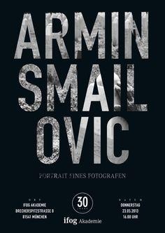 Starfotograf Armin Smailovic | Portrait eines Fotografen Visual Identity, Brand Identity, Star Wars, Armin, Branding Design, Typography, Calm, Events, Portrait
