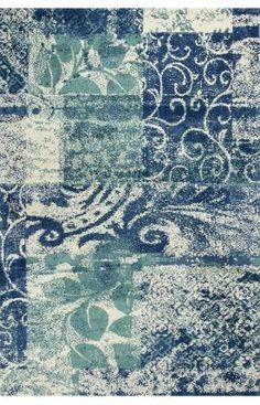 Kas Oriental Allure Artisan Blue Rug   Shag & Flokati Rugs