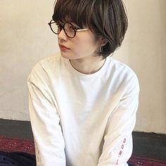 Pin on ショートヘア ( Short Hairstyles ) Pin on ショートヘア ( Short Hairstyles ) Bob Perm, Short Grunge Hair, Androgynous Haircut, Korean Short Hair, Long Faces, Model Face, Asian Hair, Girl Short Hair, Love Hair