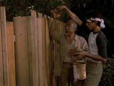 "▶Karate Kid scene ""Up Down Wax On, wax Off"" Danielsan learns paint meditation • in 1984-06-22 The Karate Kid (1) https://en.wikipedia.org/wiki/The_Karate_Kid • stars: Ralph Macchio as KK Daniel LaRusso / Noriyuki ""Pat"" Morita as guru Miyagi / Elisabeth Shue as Daniel's girl Ali Mills • all 3 dir. Avildsen • $8M budget / $91M box office ; ) • KK II 1986-06-20 $13M=$115M bo / Okinawa girlfriend Kumiko by Tamlyn Tomita • KK III 1989-06-30 / $12.5M=$39M / bonsai girl Jessica Andrews by Robyn…"