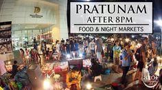 Pratunam Night Markets & Street Food. Find out more from http://aroimakmak.com/pratunam-night-markets-street-food/. #nightmarket #food #bangkok