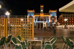 Café en plaza Mayor - Café en plaza Mayor de Valladolid
