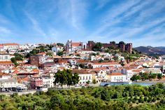 Silves, the old Moorish capital in the Algarve, Portugal