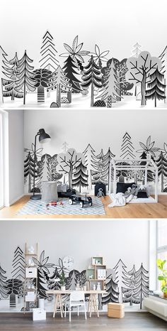 WALLPAPER | WALL MURAL | INTERIOR DESIGN | KIDS' ROOM | NURSERY | WALLPAPER FOR KIDS | INSPIRATION | PLAYFUL | CHILDREN'S ROOM