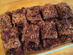 Showing love to @Annelies at Attune Foods with my recipe for Chocolate Cherry Crispy Treats