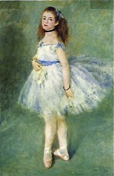 "Auguste Renoir, 1841-1919,  ""The dancer"" (1874), oil on canvas, National Gallery of Art, Washington DC"