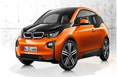 BMW Electric Car.