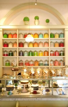 """Miette"" in San Francisco.  Beautiful candy/pastry store in Ferry Building and Hayes Valley"