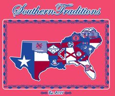 Southern Traditions. . . I love that they cut off the northern panhandle of WV. . . They're nothing but a bunch of Yankee wannabes anyway. . . :)
