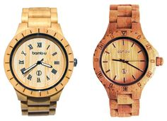 Bamb-u Watches Created From Sustainably Farmed Bamboo - The idea for the range of bamboo watches has been created by Bol Varga and Adam McLeod based in Australia and have been designed to provide a natural, beautiful and sustainable environmentally friendly timepiece. | Geeky Gadgets