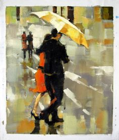 by - City Life - - Girl with Umbrella - Museum Quality Oil Painting on Canvas Art by Artseasy on Etsy Oil Painting On Canvas, Canvas Art, Umbrella Painting, Illustrations, City Life, Photos, Museum, Etsy, Vintage