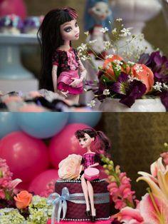 Uma linda decoração para festa Monster High! (Monster High Party)