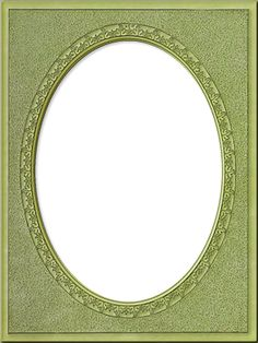 Photo Frames: Tall Traditional Oval