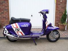 Lambretta Scooter, Vespa Scooters, Sidecar, Chopper, Automobile, Racing, Motorcycle, Vehicles, Street