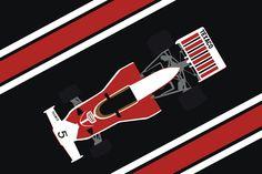 Mclaren M23 - 1974 Formula 1 Race Car
