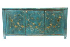Serene Shine Jago Sideboard, Blue  Madera Home  $1,749