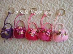 "Coleção ""Dondocas 1""... tons de rosa ao lilás. by Ateliê Nananenê by Rê, via Flickr"