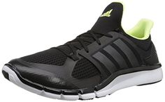 adidas Performance Women's Adipure 360.3 W Training Shoe, Black/Grey Metallic/Frozen Yellow, 9.5 M US * You can find out more details at the link of the image.