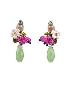 Les Nereides Love Garden Earrings