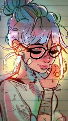 Eye ilustration pop art ideas eye is part of Drawings - Art And Illustration, Cartoon Kunst, Cartoon Art, Art Pop, Girly Drawings, Cartoon Drawings Of Girls, Deep Art, Fantasy Kunst, Digital Art Girl